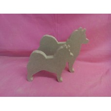 18mm Thick MDF pair of Husky dogs